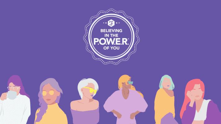P.O.W.E.R. background – girl power